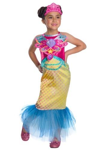 Girl's Barbie Mermaid Costume