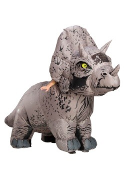 Inflatable Adult Jurassic World 2 Triceratops Costume