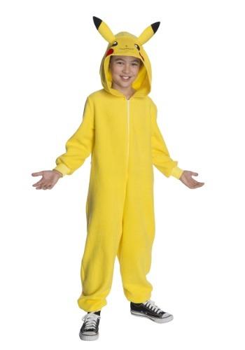 Child Pokemon Pikachu Jumpsuit