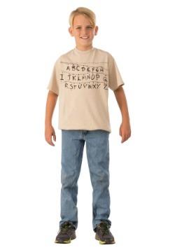 Alphabet Child Stranger Things Shirt