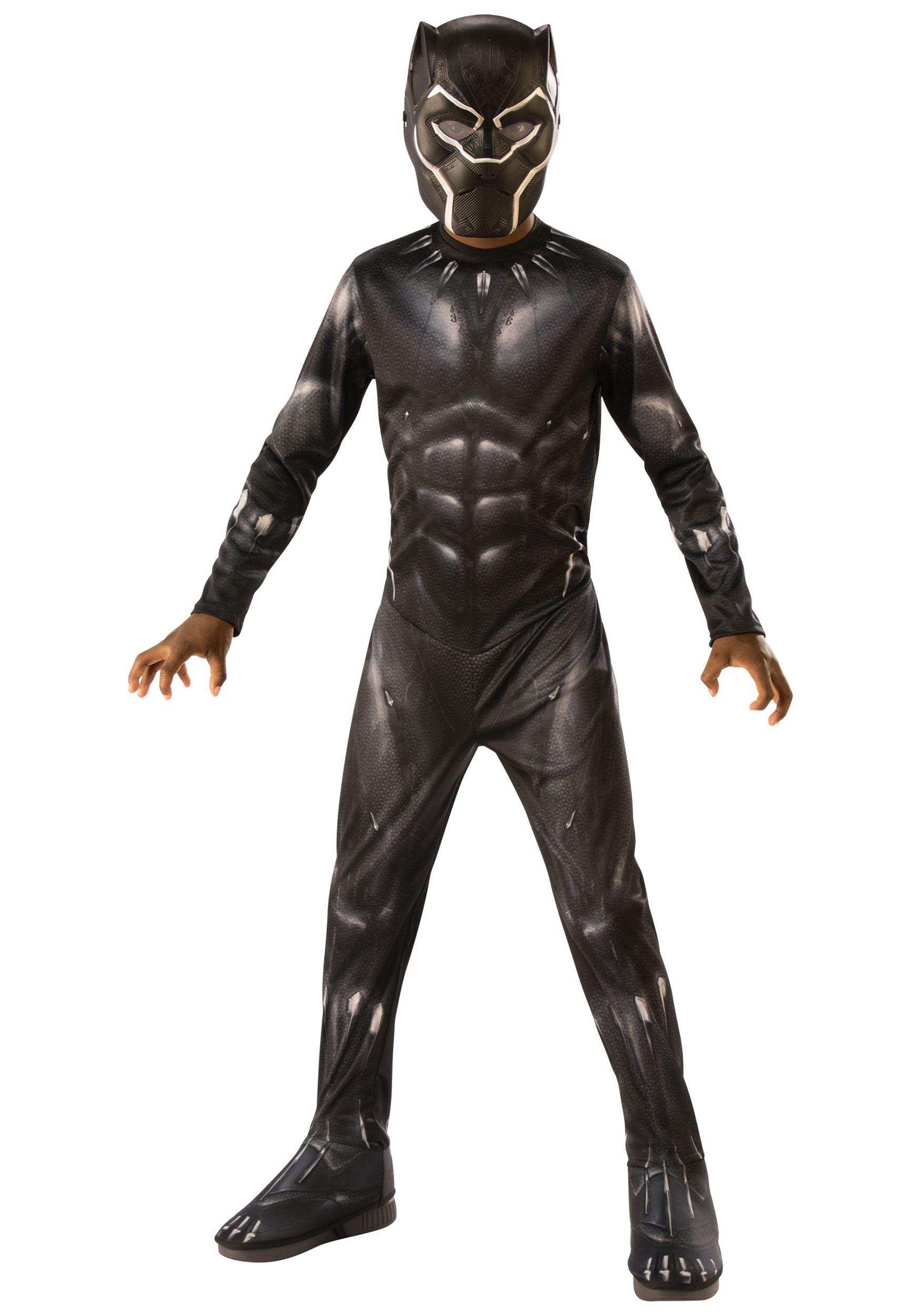 Black Panther Costume for Children RU641046