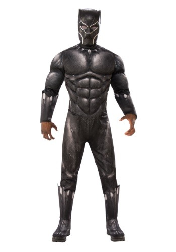 Adult Deluxe Black Panther Costume