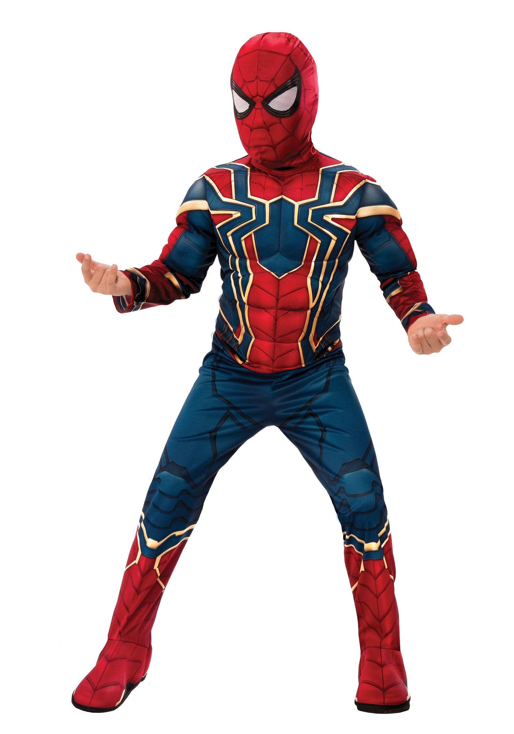 Marvel Infinity War Deluxe Iron Spider Kid's Costume RU641057