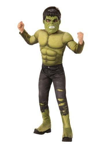 Marvel Infinity War Child Deluxe Hulk Costume