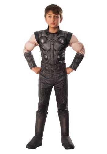 Marvel Infinity War Child Deluxe Thor Costume