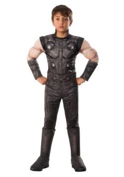 Marvel Infinity War Child Deluxe Thor Costume