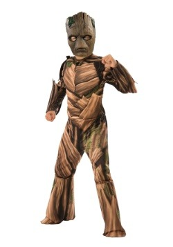Marvel Infinity War Child Teen Groot Costume