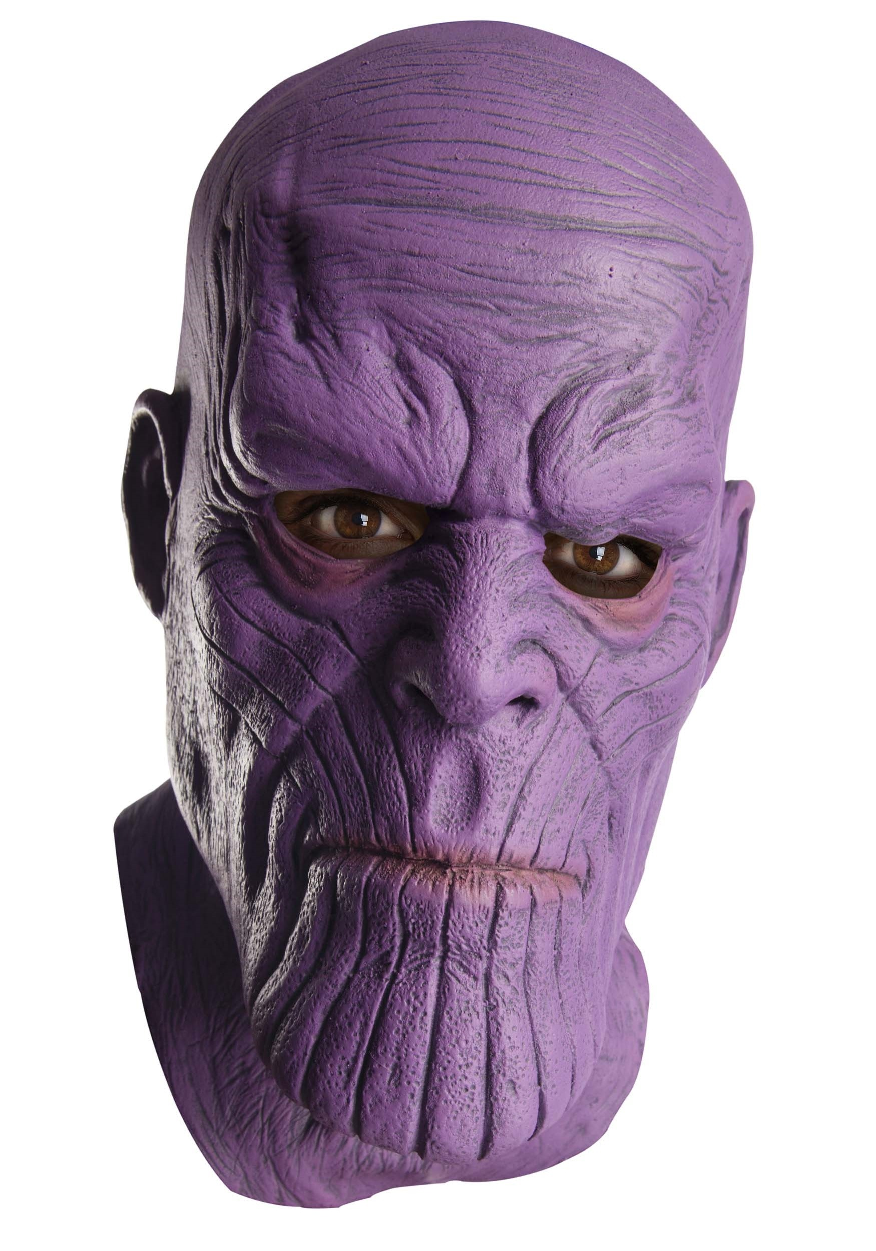 Marvel Avengers Infinity War Thanos Latex Mask For Adults Batman Adult