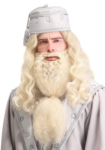 Adult Headmaster Wizard Wig and Beard