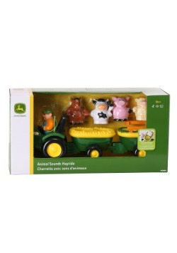 John Deere Animal Sounds Hayride Set