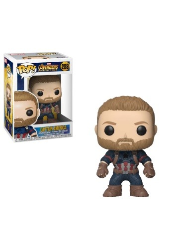POP! Marvel: Avengers Infinity War Captain America Bobblehead Figure FN26466-ST