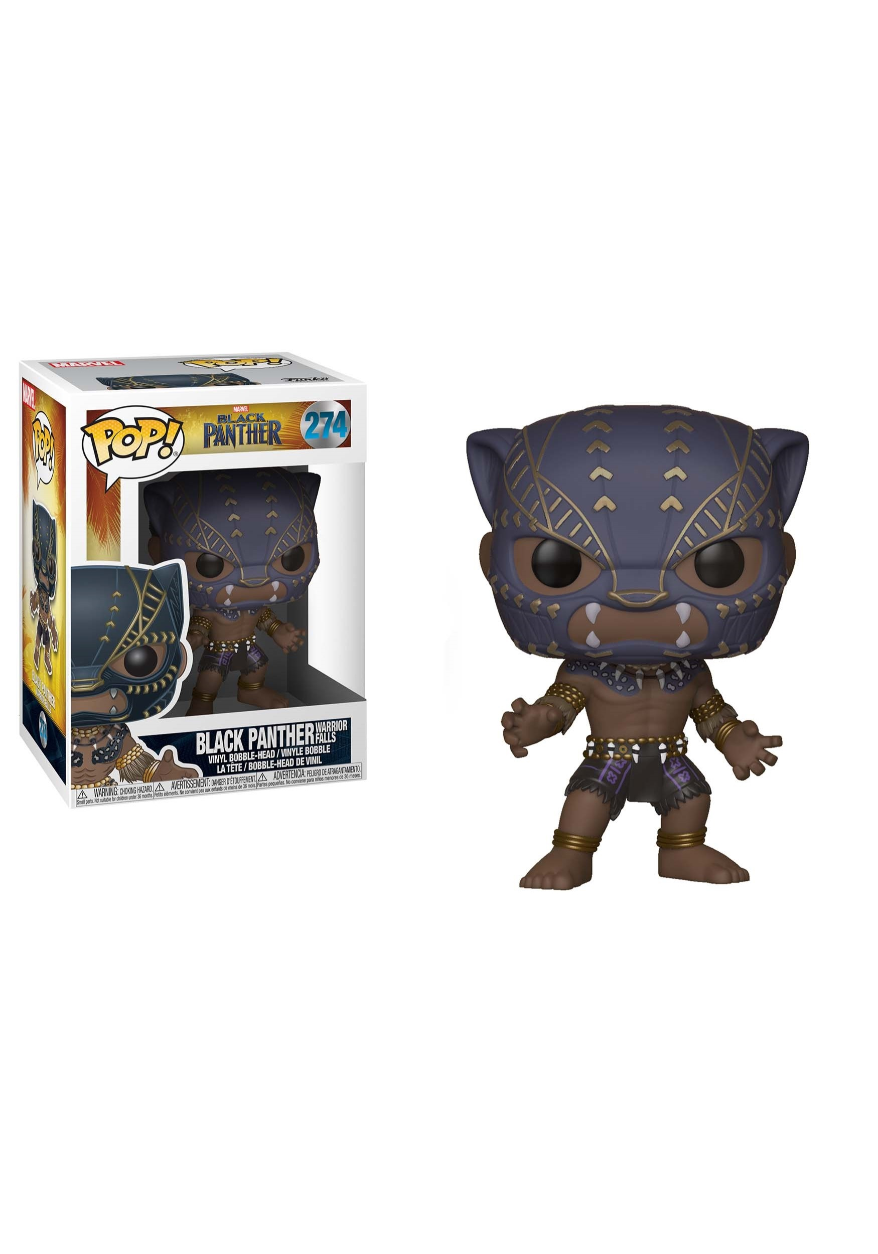 POP! Marvel: Black Panther Warrior Falls Bobblehead Figure FN23130