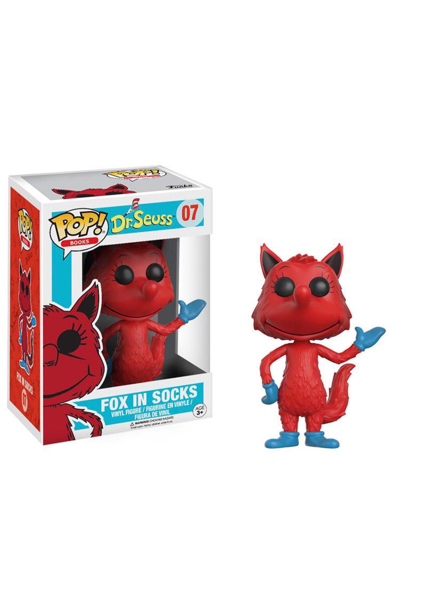 Funko Pop Vinyl-Dr Seuss-Fox en Chaussettes 07