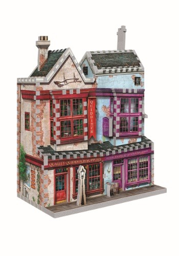 Harry Potter Diagon Alley 3D Collection- Quality Quiditch