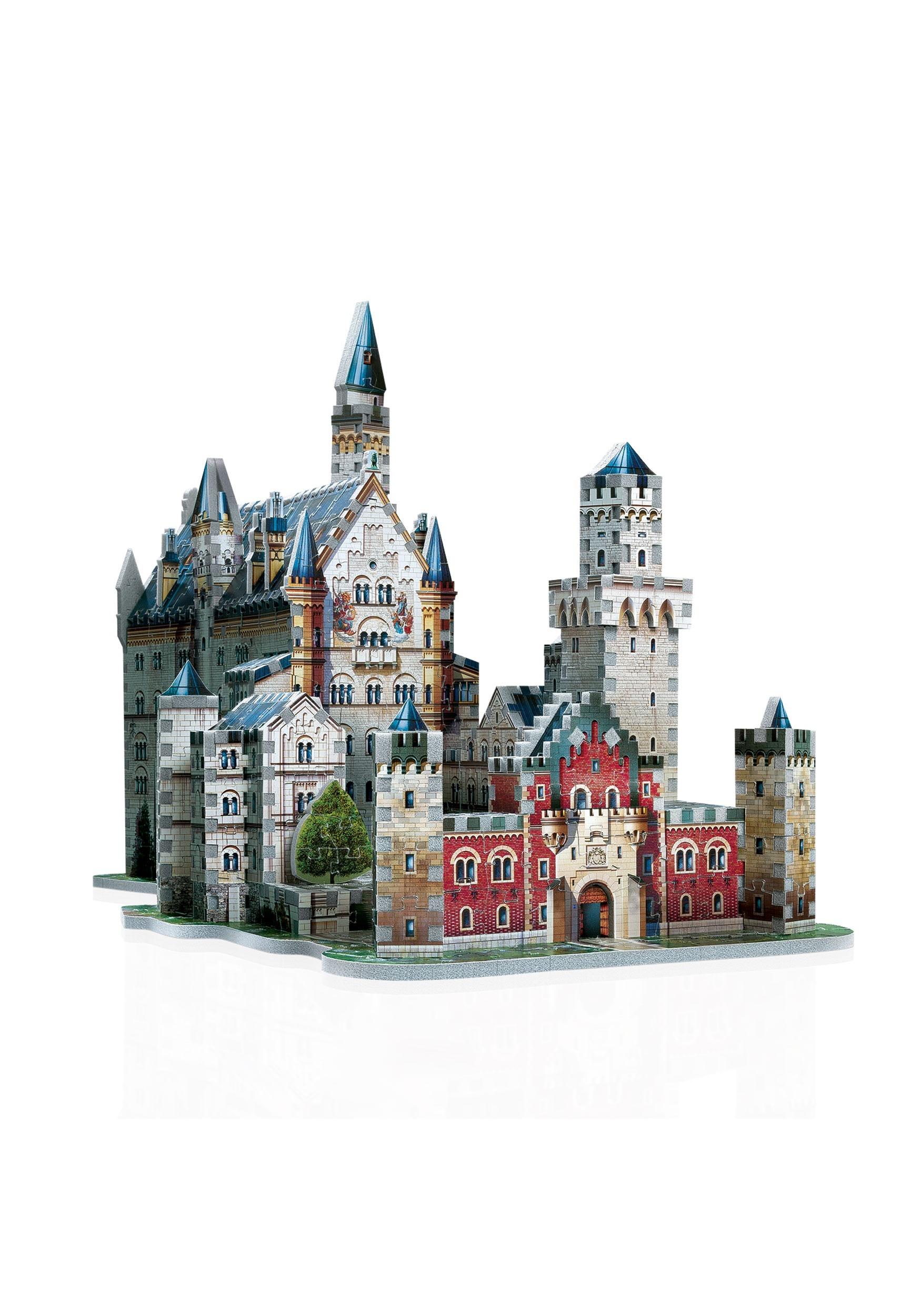 Wrebbit 3D Jigsaw Puzzle Neuschwanstein Castle