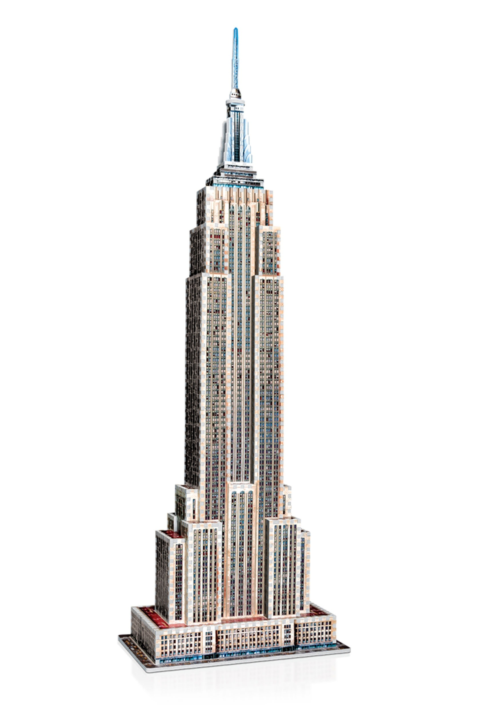 empire state building wrebbit 3d jigsaw puzzle. Black Bedroom Furniture Sets. Home Design Ideas