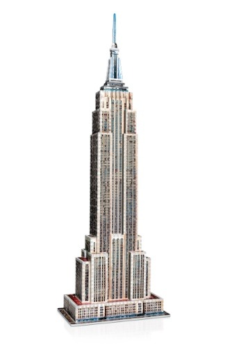 Empire State Building Wrebbit 3D Jigsaw Puzzle