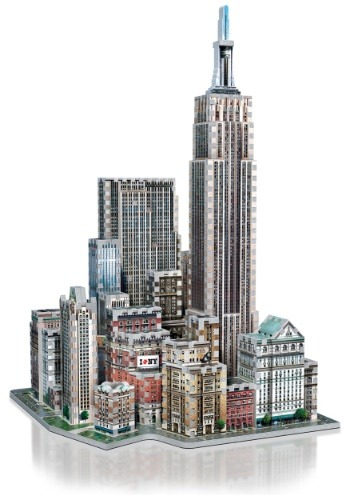 New York Collection - Midtown West Wrebbit 3D Jigsaw Puzzle