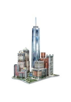 New York Collection - World Trade Center Wrebbit 3D Jigsaw