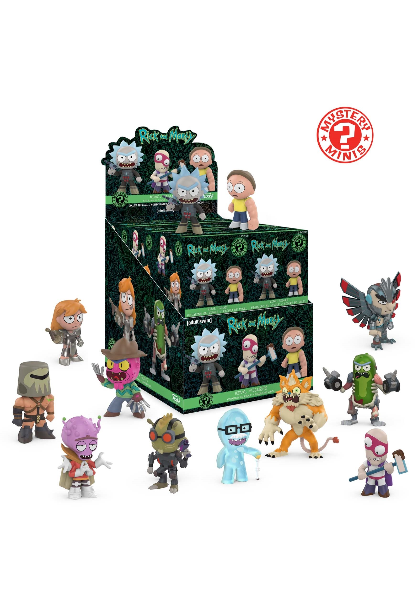 Rick Amp Morty Wave 2 Mystery Minis Blind Box