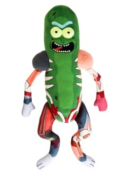 Galactic Plushies: Rick & Morty Pickle Rick in Rat Suit