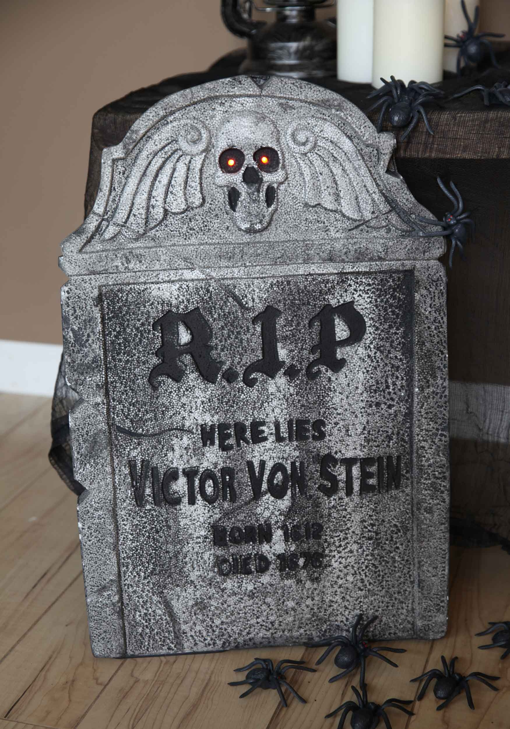 Halloween Decorations RIP Tombstone