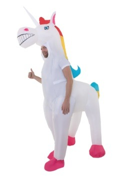 Adult Giant Inflatable Unicorn Costume