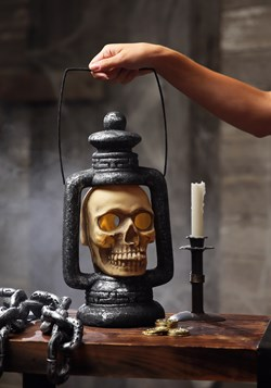 Skull Light Up Spooky Lantern Update 1