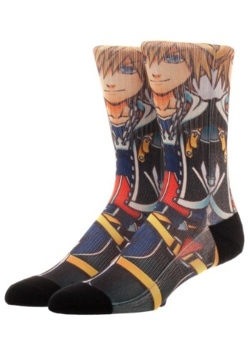 Adult Kingdom Hearts Sora Sublimated Socks