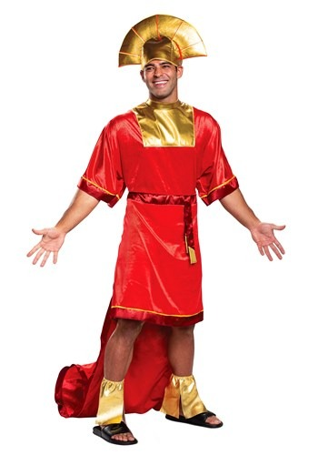 Adult Emperor's New Groove Kuzco Costume