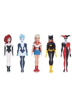 Batman Animated Girls Night Out Action Figure 5 Pack
