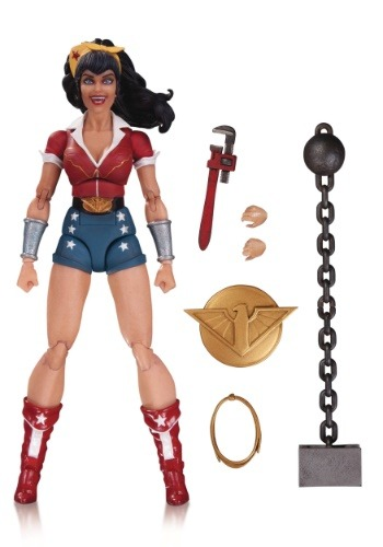 DC Designer Series Bombshell Wonder Woman Action Figure DCOCT160336-ST