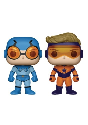 POP! DC Heroes Booster Gold & Blue Beetle Vinyl Figures 2 Pack DCAUG179001