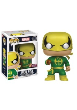 POP! Marvel Iron Fist Bobblehead Figure