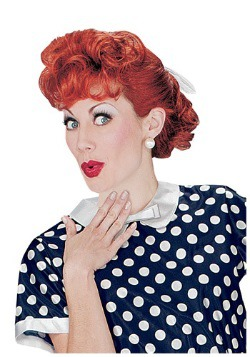 I Love Lucy Hair Wig
