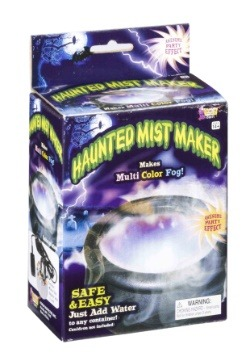 Haunted Mist Maker with Lights Halloween Decoration