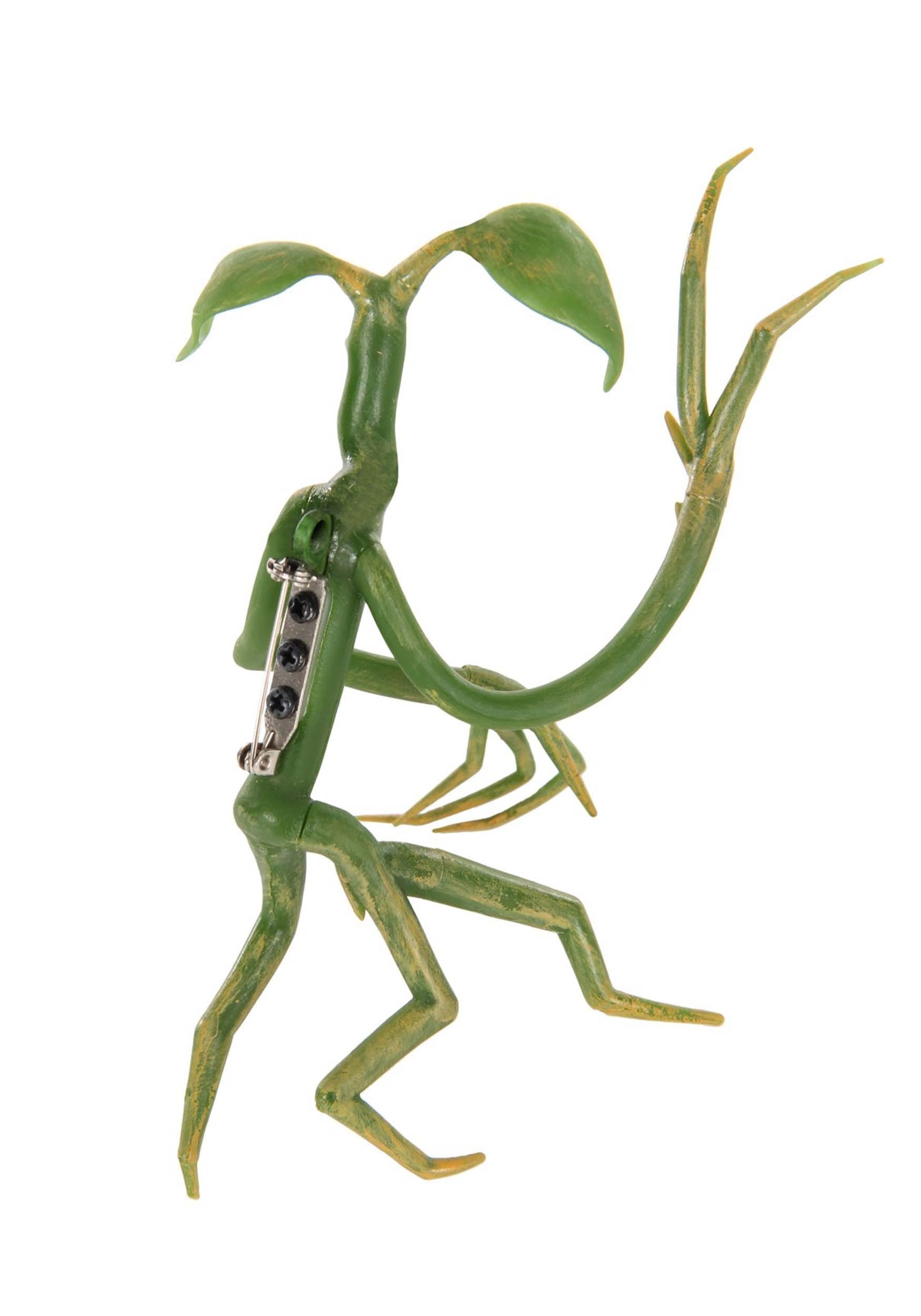 Pickett Bowtruckle Fantastic Beasts Pin Accessory It appears to be made of bark and twigs with two brown eyes which makes it hard to distinguish from the trees it inhabits. fantastic beasts pickett bowtruckle pin accessory