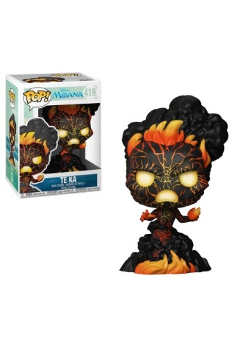 POP! Disney: Moana- Te Ka Vinyl Figure
