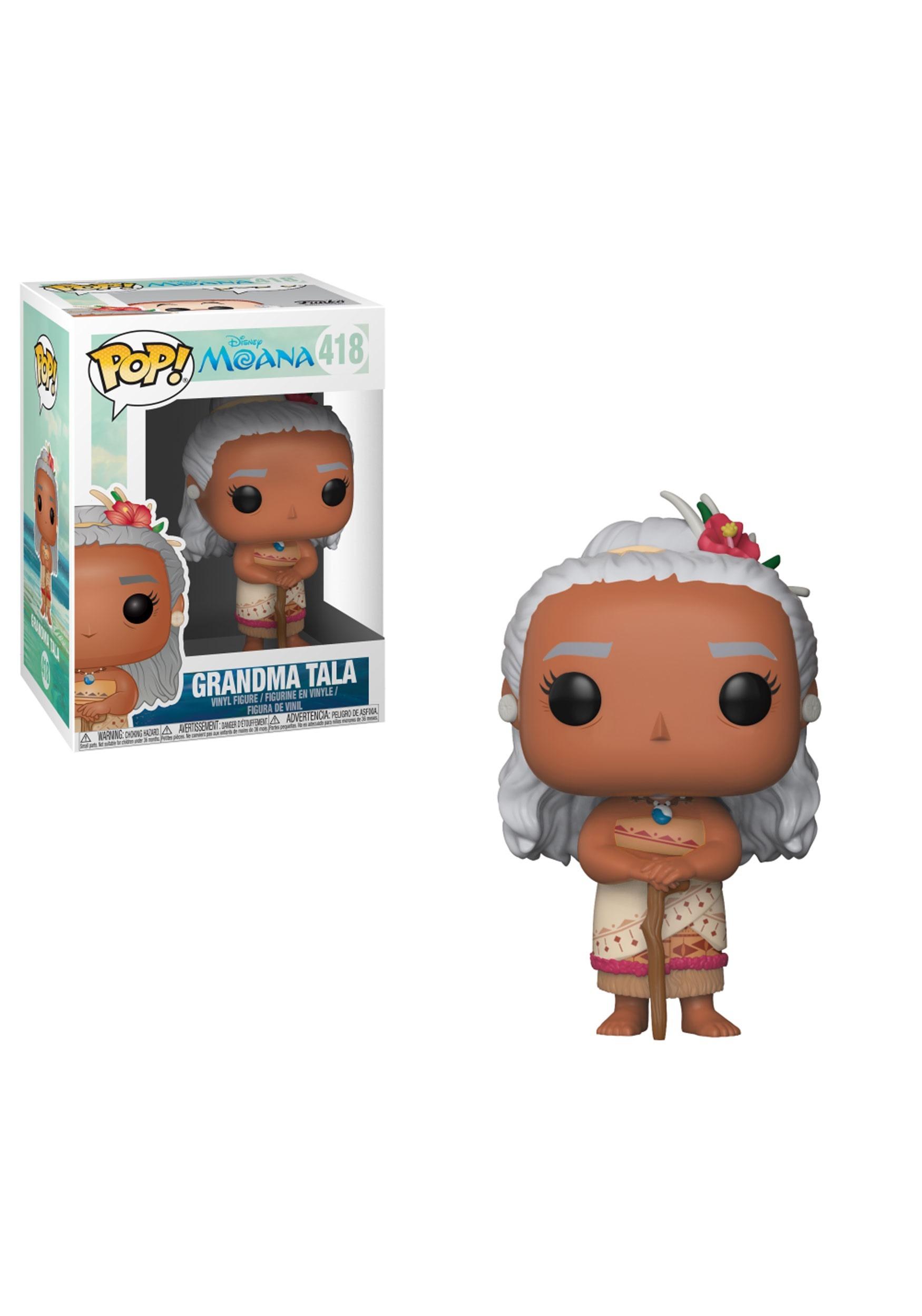 Pop Grandma Tala Disney Moana Vinyl Figure