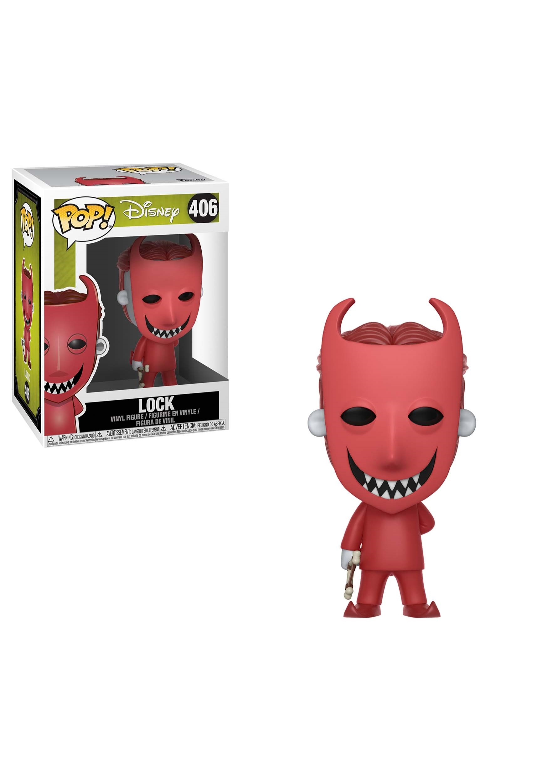 POP! Disney: Nightmare Before Christmas- Lock Vinyl Figure