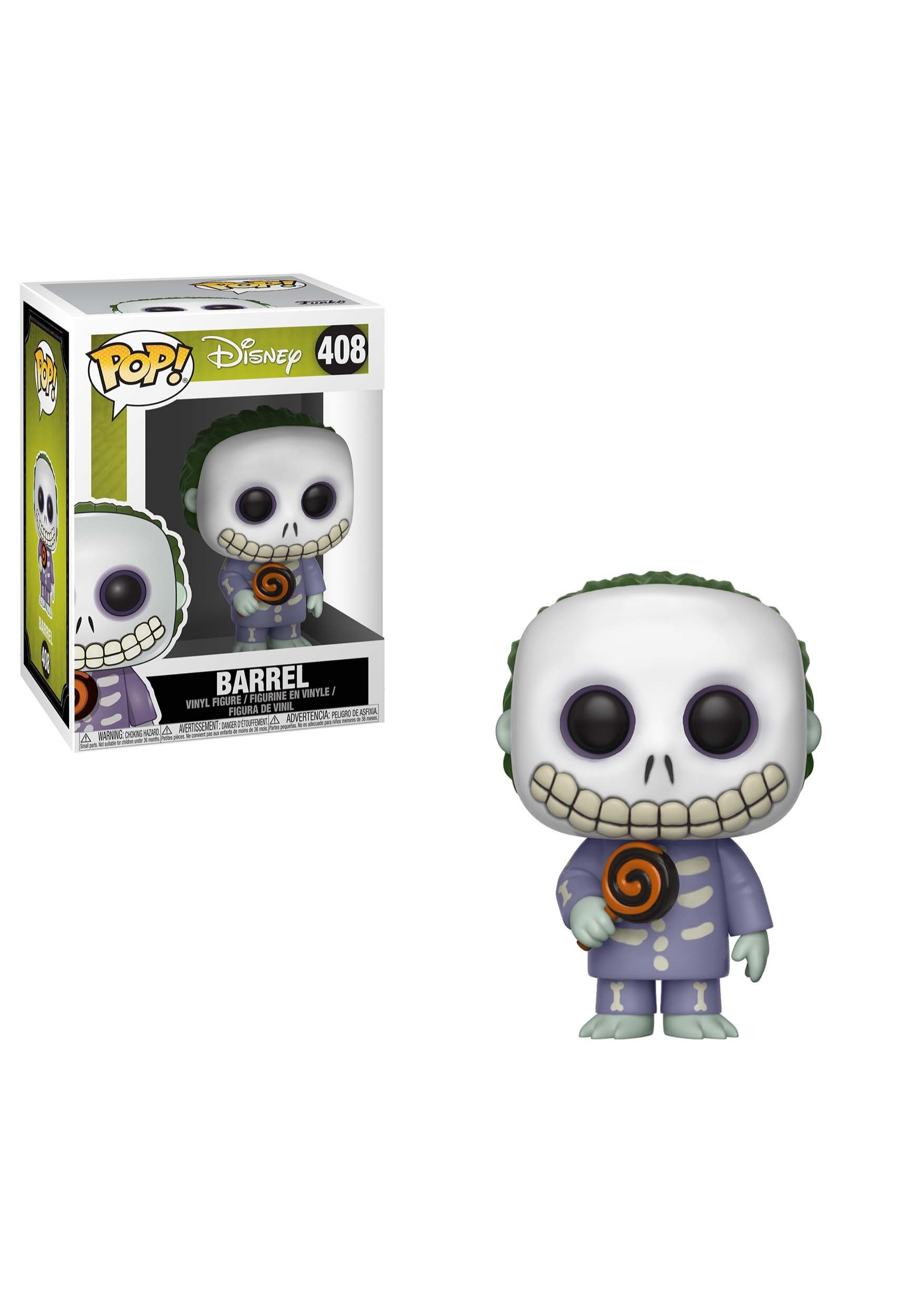 POP! Disney: Nightmare Before Christmas- Barrel Vinyl Figure