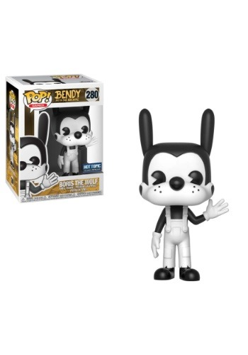 POP! Games: Bendy and the Ink Machine- Boris the Wolf Vinyl