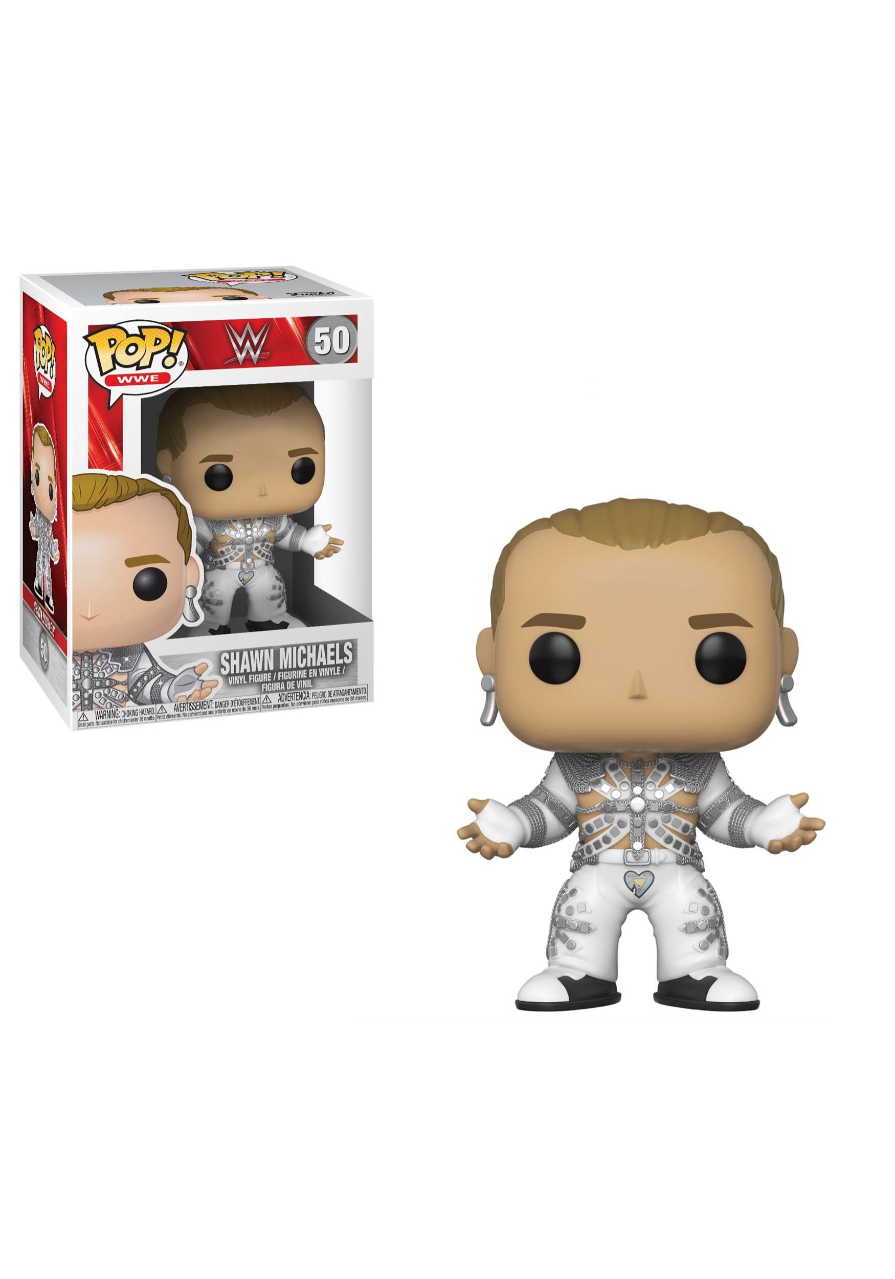 POP! WWE: Shawn Michaels Wrestlemania 12 Vinyl Figure FN29032