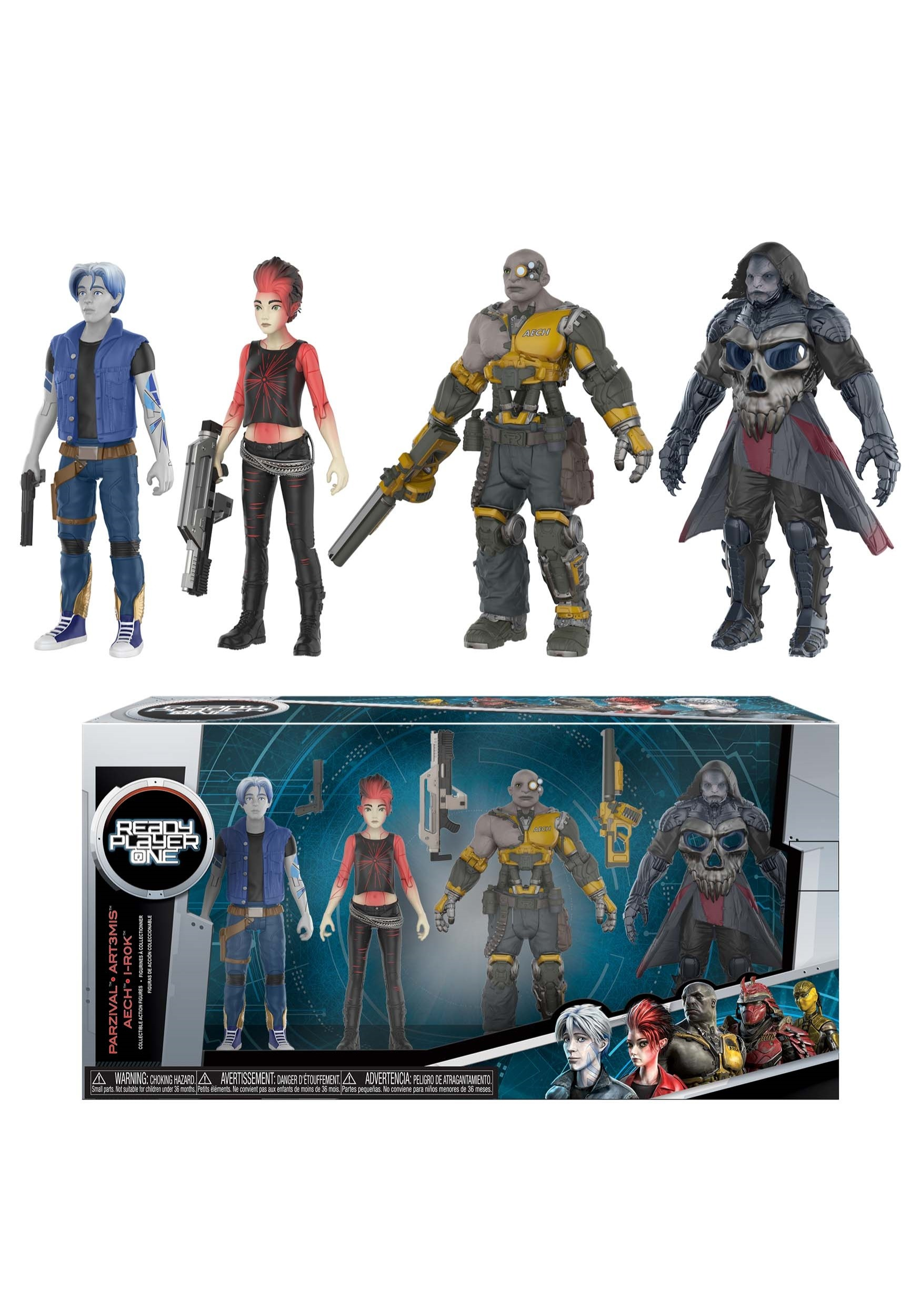 Ready Player One: Action Figure 4 Pack FN22062