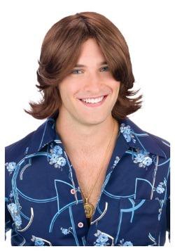 Brown Ladies Man Wig For Men