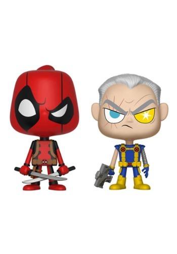 Vynl: Deadpool & Cable Bobblehead Figures- Marvel
