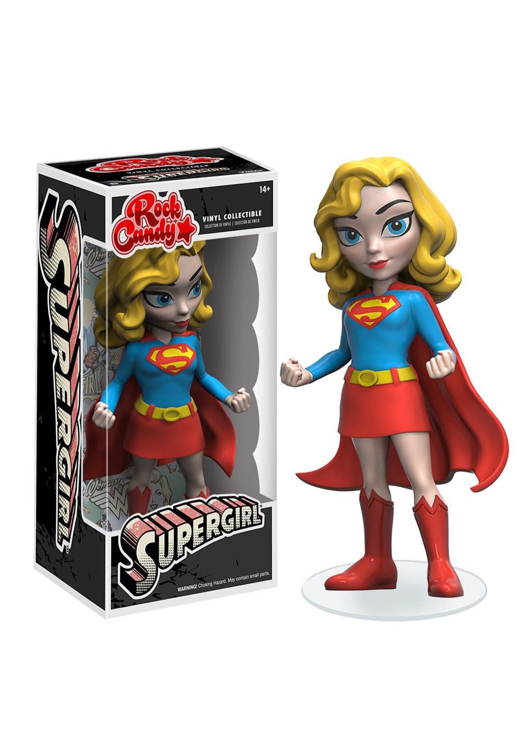 Rock Candy: DC Comics- Classic Supergirl Figure FN8049