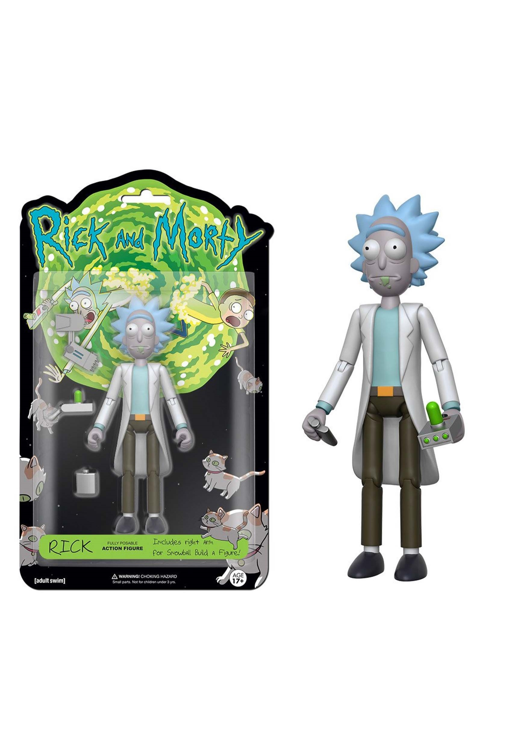 "FUNKO Rick & Morty - Rick 5"" Articulated Action Figure FN12924"