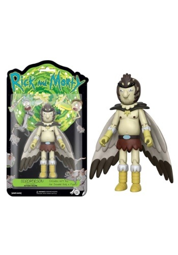 "Rick & Morty FUNKO - Birdperson 5"" Articulated Action Figure FN12928"