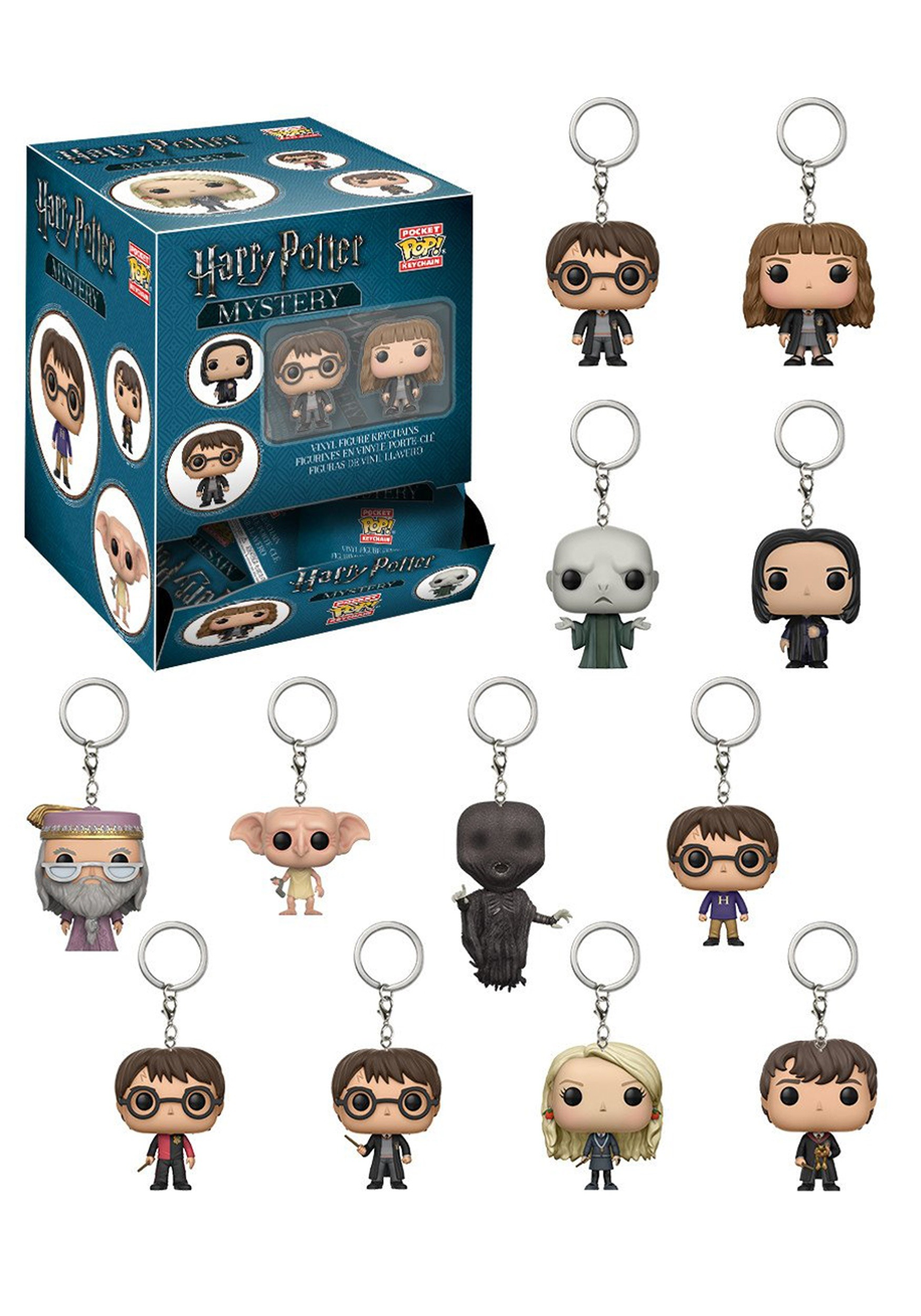 Pop Blind Bag Harry Potter Keychain